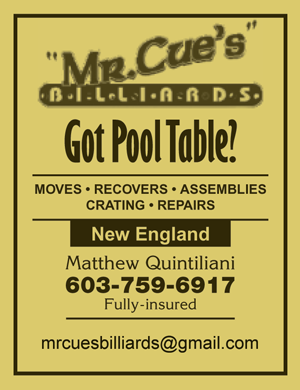 Mr Cue's Billiards of New Hampshire